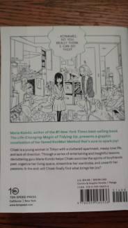 Manga by Marie Kondo Back Cover