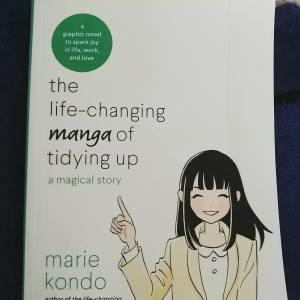 Manga by Marie Kondo Cover